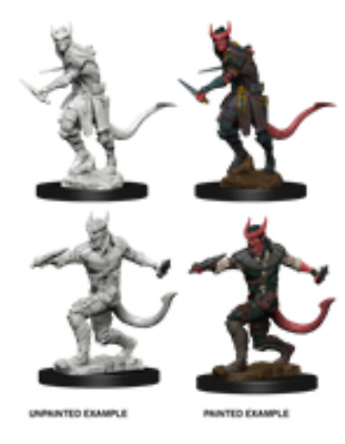 $ CDN6.99 • Buy D&D Unpainted Minis Wv5 Tiefling Male Rogue NEW Miniatures Dungeons & Dragons