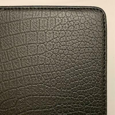 Black Crocodile PU Leather Case Cover With LED Light Amazon Kindle 4th Gen • 9.99£