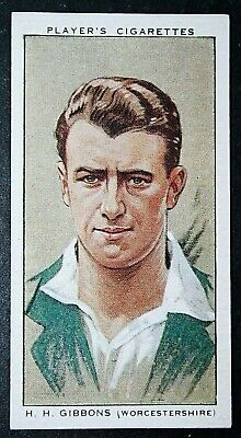 Worcestershire CCC   Gibbons    Vintage Cricket Card  CAT M • 2.50£