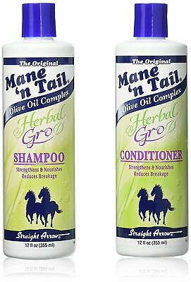 £16.29 • Buy MANE N TAIL HERBAL GRO SHAMPOO AND CONDITIONER DUO 12oz, 27oz + FAST DELIVERY