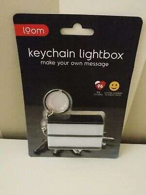 £3.50 • Buy Thumbs Up Loom Make Your Own Message Keychain Lightbox