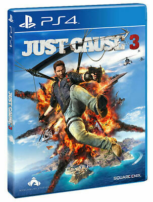 Just Cause 3 - Playstation 4 - New Sealed - Same Day Dispatch • 12.99£