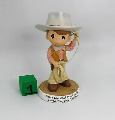 $59.99 • Buy John Wayne Tribute Cowboy Figurine W/ Lasso Precious Moments  2015