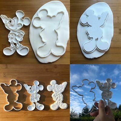 £14.50 • Buy Mickey Mouse-inspired - Cookie Cutter Fondant Cake Decorating