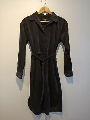 AU28 • Buy Uniqlo Shirt Dress - Dark Grey - M