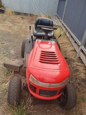 AU1400 • Buy Ride On Lawn Mower 38 Inch Cut Very Reliable Good Condition Yard King 14.5 Hp