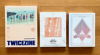 $ CDN37.57 • Buy TWICE MONOGRAPH Feel Special, JeJu Island Edition, The Opening Encore DVD Ver.