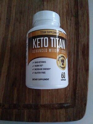 $6.10 • Buy Keto Titan Advanced Weight Loss With MCT Powder, Apple Cider Vinegar, Green Tea
