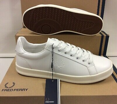 Fred Perry Leather Men's Sneakers Trainers Shoes UK 6.5 / EU 40 • 50£