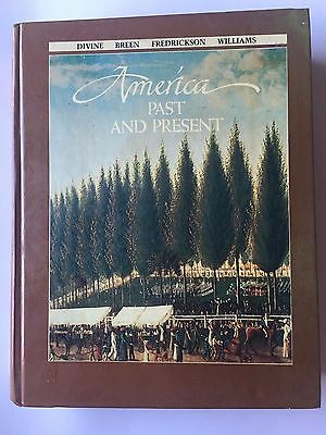 $7.95 • Buy America, Past And Present By Robert A. Divine (1984, Hardcover), Illustrated