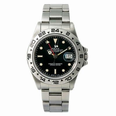 $ CDN15186.04 • Buy Rolex Explorer II 16550 Men Automatic Vintage Unpolished Rail Spider Dial 40mm