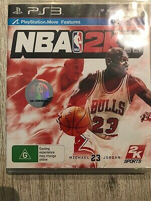 AU9.50 • Buy NBA 2K11 PS3 Playstation 3 Basketball Game Complete With Manual - Jordan Cover