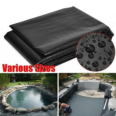Hevy Duty Fish Pond Preformed Liners Garden Pool Membrane Reinforced Landscaping • 9.99£