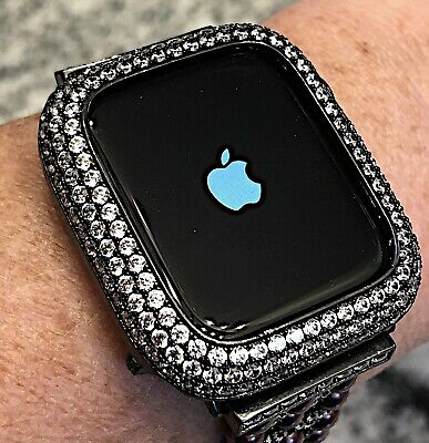 $ CDN79.85 • Buy 38mm Black Lab Diamond Apple Watch Bezel Case Cover Metal Iwatch Series 2/3