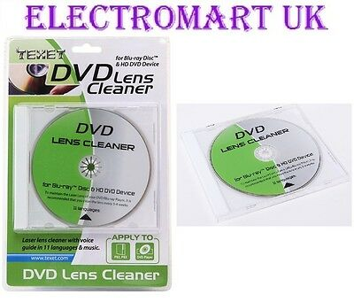 £3.99 • Buy Laser Lens Cleaner Dvd Blu-ray Player Games Consoles X Box 360 Ps3