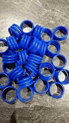 Poultry/Chicken Spiral Leg Rings 16mm X 28 • 9£