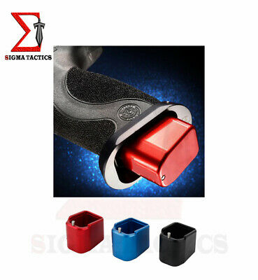 $12.49 • Buy Metal Magazine Extension Base Pad For  M&P Full Size Magazine +5/+6  9mm / .40
