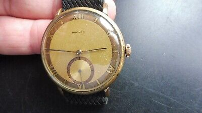 $ CDN49.60 • Buy Vintage Pronto Hand Winding Watch.(PARTS.RESTORE)
