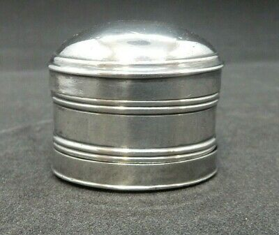 George III Solid SILVER Nutmeg Grater. Forrest & Wasdell Birm 1801 No Engravings • 395£
