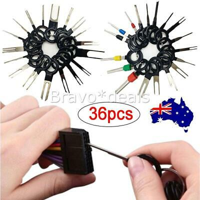 AU15.95 • Buy 36pc Wire Terminal Removal Tool Car Electrical Wiring Crimp Connector Pin Kit AU