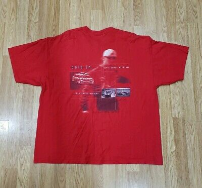 $ CDN19.03 • Buy Dale Earnhardt Jr Budweiser Chase Authentics Nascar Graphic Two Sided Shirt XXL