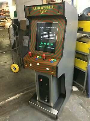 Coin Operated Fully Working Vintage Multi Games Machine Space Invaders Pacman ++ • 1,445£