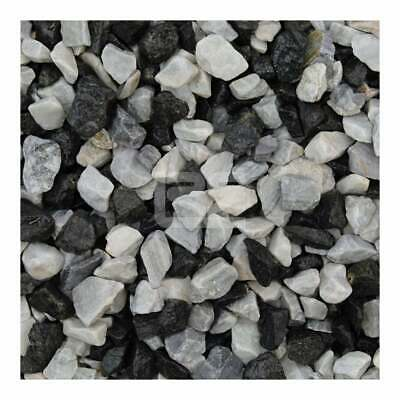 £13.95 • Buy Black Ice Chippings 20mm Decorative Garden And Landscaping Gardens - 20 Kg