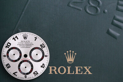 $ CDN3303.63 • Buy Rolex Daytona Silver Racing Dial With Red Hand Set For 116529 - 116520 FCD9971