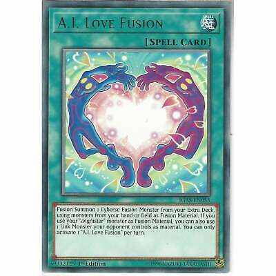 £0.99 • Buy IGAS-EN053 A.I. Love Fusion   1st Edition Rare Card YuGiOh Trading Card Game TCG