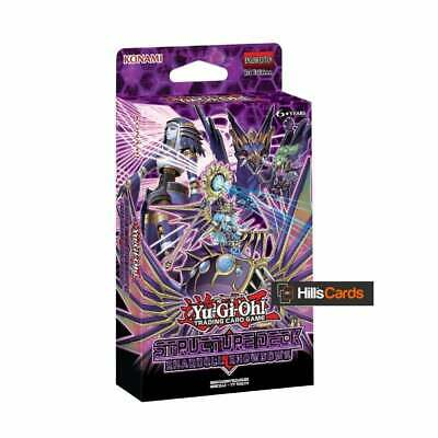 YuGiOh Shaddoll Showdown Structure Deck 1st Edition: New & Sealed SDSH TCG Cards • 9.79£