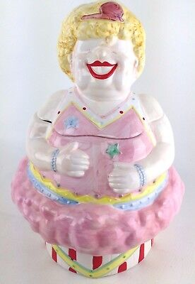 $ CDN79.33 • Buy Circus Fat Lady Cookie Jar AMC NY NY RARE Vintage Musical Part Doesn't Work