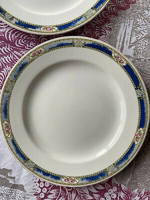 Rare Wedgwood Imperial Florence Dinner Plates X2 263mm Dia Tired & Cheap • 12£