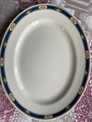 Rare Wedgwood Imperial Florence Turkey Roast Plate 410x325mm Light Use • 17£
