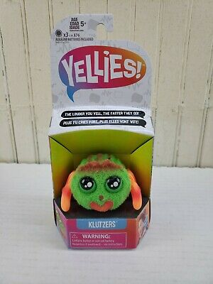 $9.25 • Buy Yellies! Klutzers; Voice-Activated Spider Pet; Ages 5 And Up