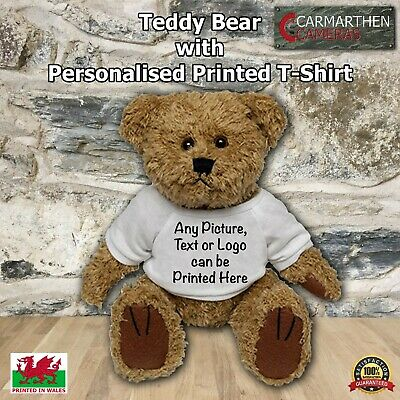 £12.99 • Buy Teddy Bear With Personalised Printed T-Shirt Perfect Gift Idea