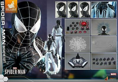 $ CDN482.99 • Buy New 1/6 Scale Hot Toys Vgm37 Spider-man (negative Suit) Marvel's Spiderman