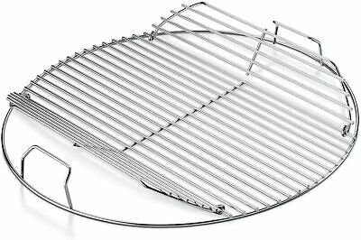 $ CDN74.27 • Buy Grill Cooking Grate 22  Steel Rack Round Grid BBQ Part Replacement Heavy Duty