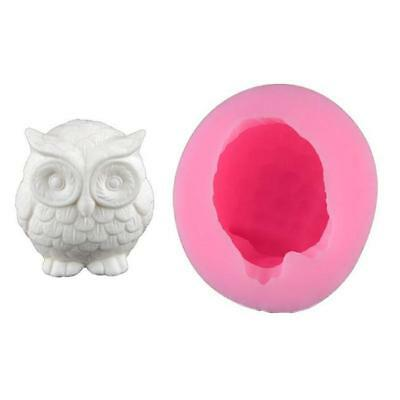 OWL 3D Silicone New Hand Crafted Mold Every Candle Mould Mold Heart Wax Melt FI • 5.03£