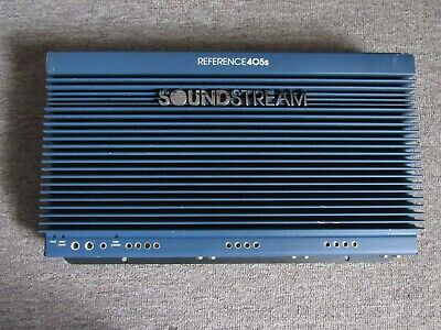 $ CDN656.36 • Buy Old School Soundstream Reference 405S 5 Channel Amp ! Nice !!!