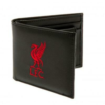 £12.99 • Buy Liverpool Fc Crest Embroidered Pu Leather Wallet - Official Football Gift