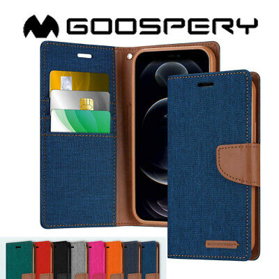 AU11.99 • Buy Wallet Case For IPhone 11 Cover Pro Max X XS XR Flip 6 6s 7 8 Plus Canvas Slim