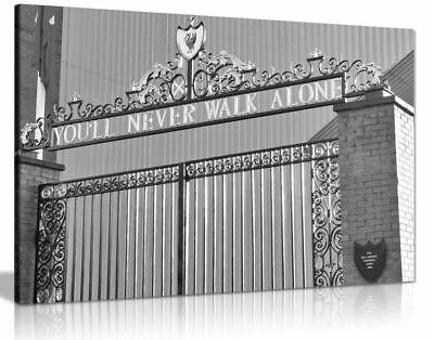 £19.99 • Buy Liverpool Football You'll Never Walk Alone Canvas Wall Art Picture Print Home