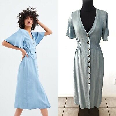 AU50 • Buy Zara Denim Dress Size 8