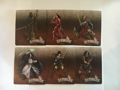 AU14.95 • Buy Zombicide Exclusive Kick Starter Characters. Horde Box, Huntsman & Knight Pack.