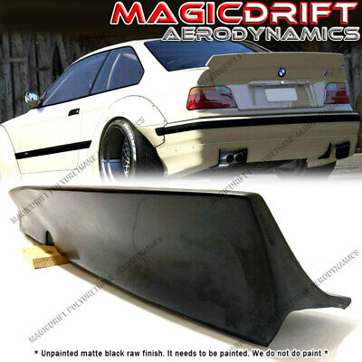 $85 • Buy BMW E36 3-SERIES Polyurethane Rear Boot Trunk Deck Lid Lip Spoiler Wing RB Style