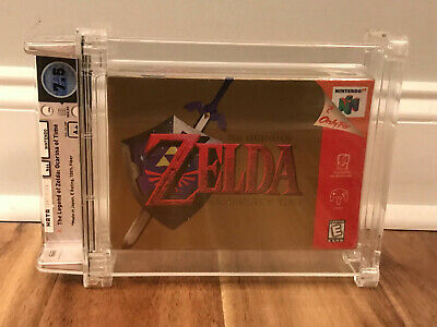 $899.99 • Buy N64 Legend Of Zelda Ocarina Of Time WATA 7.5 A+ Sealed Classic Game Link Movie?