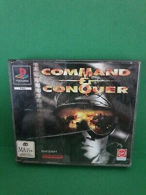 AU28.35 • Buy Command & Conquer (no Booklet) 🕹 PS1 SONY PLAYSTATION 1🕹FREE POST