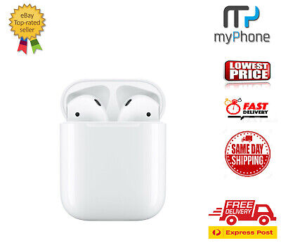 AU199 • Buy Brand New Apple AirPods 2nd Generation With Charging Case - White [ AU Seller ]