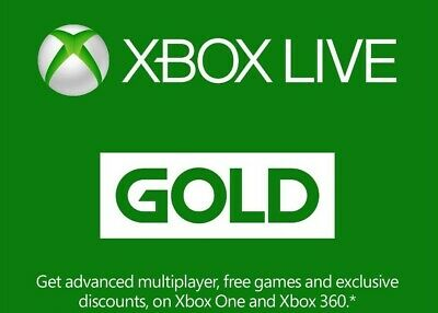 $4.91 • Buy Microsoft Xbox Live 14 Day Gold Membership 10mins Digital Delivery