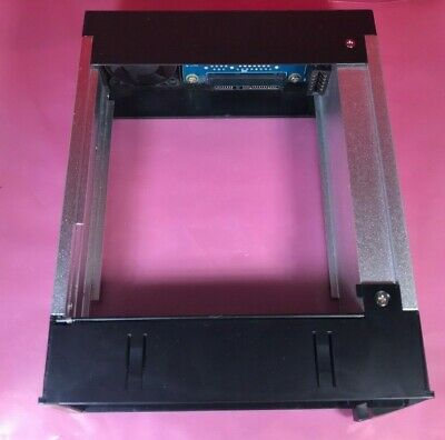 Icy Dock MB123SK-1B 3.5  SATA HDD Hot-Swap Mobile Rack For 5.25  Device Bay • 14.44£